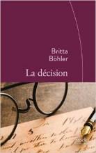 Britta Bohler - La decision - Stock