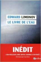 Edward Limonov - Le livre de l'eau - Barillat