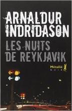Arnaldur Indridason - Les nuits de Reykjavik - Métailié