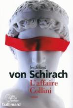 L'affaire Collini - Ferdinand von Schirach - Gallimard