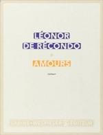 Léonor de Récondo - Amours - Sabine Wespieser