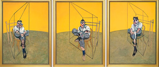 Francis Bacon - Triptyque Lucian Freud
