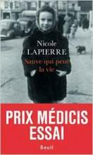 Nicole Lapierre - Sauve qui peut la vie - Seuil
