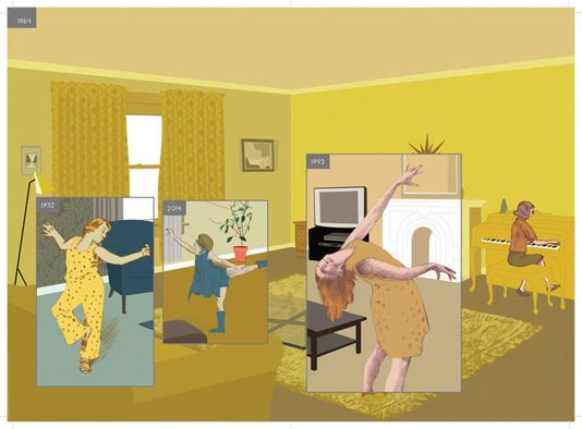 Richard McGuire Ici exemple