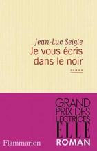Jean-Luc Seigle - Je vous écris dans le noir - Flammarion