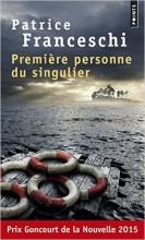 Patrice FRANCESCHI - Première personne du singulier - Points