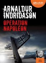 Arnaldur Indriason - Opération napoléon - Audiolib couverture provisoire