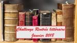 Challenge Rentrée littéraire janvier 2018
