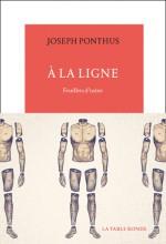 Joseph PONTHUS - A la ligne - La Table Ronde