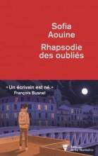 sofia AOUINE - Rhapsodie des oubliés - La Martinière